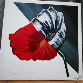 Canvas painting
