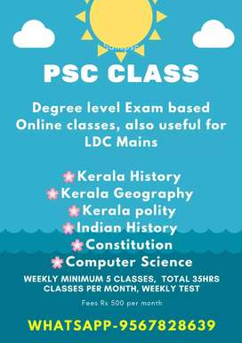online PSC Classes just 35hrs+ tests @500rs