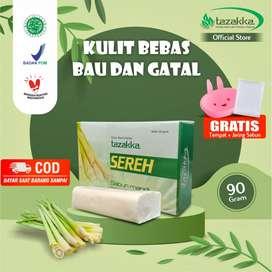 Tazakka Sereh Sabun Mandi Herbal Antiseptik Original BPOM Penghilang B