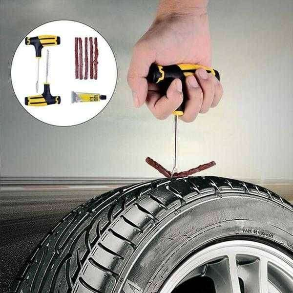 Heavy Duty Tubeless Tire Repairing Kit Tool GKN-041 0