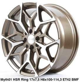 velg di cirebon MYTH01 HSR R17X75 H8X100-114,3 ET42 BRZMF