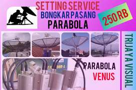 Pusat Ahli spesialis install (. parabola ) dan Antena tv lokal