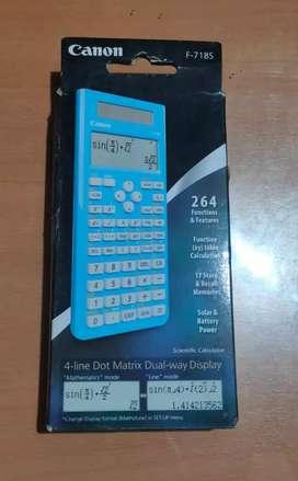 Kalkulator Canon F-718 Scentific