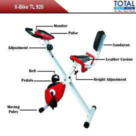 Alat Fitness Sepeda Statis X Bike Sandaran TL 920 - Excider Bike Murah
