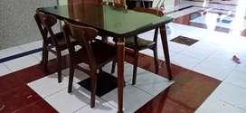 Dijual meja makan jati