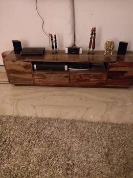 "Solid Wood 65"" TV Unit for sale"