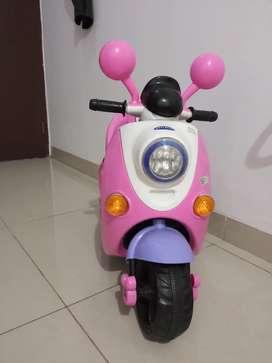 Motor aki pliko pink