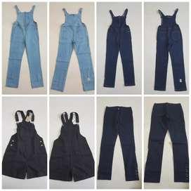 Dijual celana cewe Levis panjang, Overoll panjang dan pendek