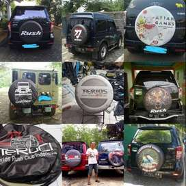 Cover/Sarung Ban Daihatsu Taruna/Rush/Terios/Jimny tutup ban anti air