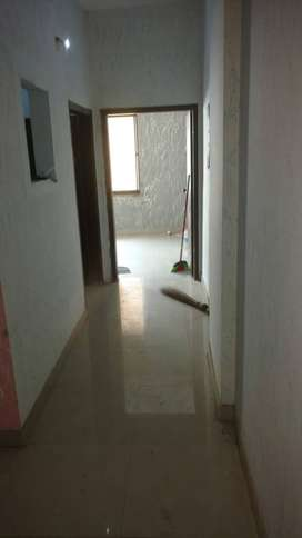 Two bedroom flat, first floor, PECHS, Tariq road, Karachi, east open