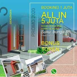 Dijual Rumah DP 5jt All in di Cicalengka dkt Jatinangor Bandung
