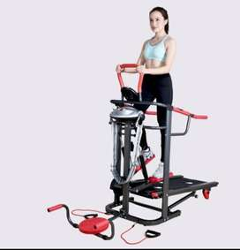 TREADMILL MANUAL TL O4 multi fungsi lengkap bangett