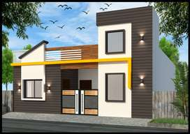 3 BHK 1500 Sq. ft Villa for Sale in amrit palace colony|nipania, Indor