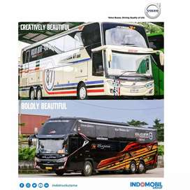 Chasis Bus Pariwisata Travel, AKAP, VOLVO B11R 430HP 6x2, Pekanbaru