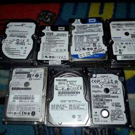 Laptop and desktop hard drives available