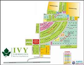 3 Kanal Farm house Plot in IVY Farms Community