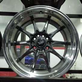 Velg Mobil Ring 18 HSR Hiroshima Untuk BMW Inova Rush Terios Dll