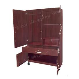 Limited Offer Fixed Price Wooden Four Door One Large Drawer Cupboard