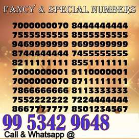 V.V.VIP & FANCY & GOLD MOBILE NUMBERS PREPAID SIM CARD BIG SALE ALL IN