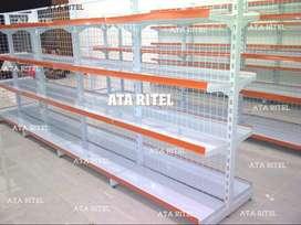 rak toko jual gondola supermarket minimarket besi baja display warung