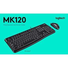 COMBO KEYBOARD&MOUSE LOGITECH MK120