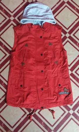 Jacket fast / rompi cotton ny intercrew