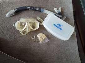 Perlengkapan masker selam/diving merek problue lengkap