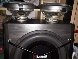 Jual speaker+subwoofer aktif