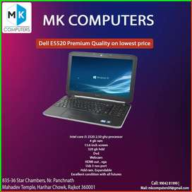 """DELL E5520 15.6"""" NUMPAD LAPTOP ONLY"""