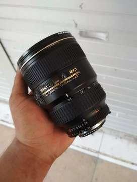 Lensa 17-35 F2.8 ED mulus nikkor termurah seindonesia siap pakai