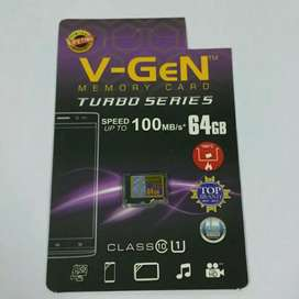 sd card vgen originl turbo life time garansi 16,32,64gb ori memory iw1