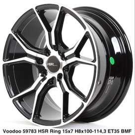 velg VOODOO 59783 HSR R15X7 xenia modifikasi