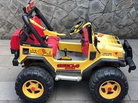 Mobil Aki Peg Perego Jeep Gaucho 12 V