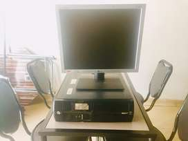 Hp Intel (R) core (TM) 2 Duo CPU and a 17' LG LCD for sale