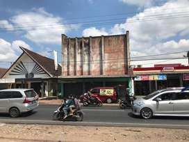 Disewakan Murah Ruko Lokasi Strategis di Jalan Propinsi