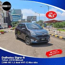 Daihatsu Sigra R Manual Tahun 2018 Dp 14,5jt Termurah