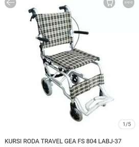 KURSI RODA TRAVELING - GEA FS 804 (Harga TURUN, semula 1.050.000)