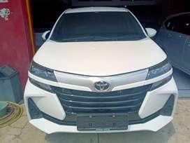 Toyota Avanza E mt 2019 putih di jamin jos