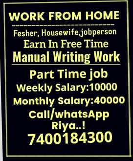 Part time job facilities as