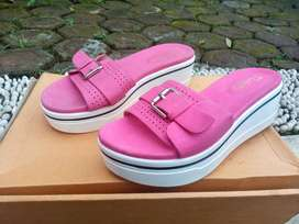 Wedges Robelli - Pink White Size 37