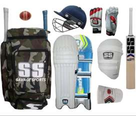 SS cricket kit Full size for,15 years to adults