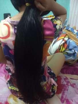 Rambut sambung asli manusia 55,cm ada 150 helai