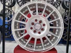 Velg Mobil Etios Sigra Visto Cerifo Ring 16 HSR ARROW H4X100-114,3 SMF