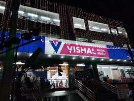 Full Time Job Opening Boys And Girls in Vishal Mega Mart Mall