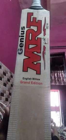 Brand mrf cricket leather bat English willow