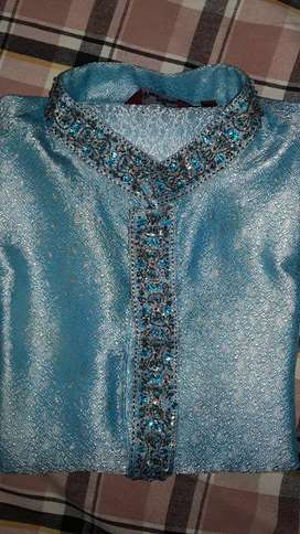 Blue Sherwani for Sale for men 38 to 40 size