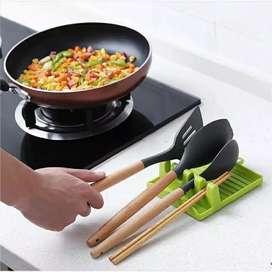 Alas plastik spatula /tempat tutup panci