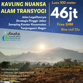 Miliki Tanah Kavling Nuansa Alam Transyogi Dekat Jalan Provinsi