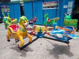 RST kereta panggung odong animal komedi putar lantai IIW