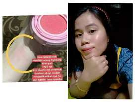 Blush on cantik dan ringan